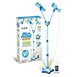 OceanEC Kids Karaoke Machine, Kids Karaoke Music Toy Play Set with 2 Microphones and Adjustable...