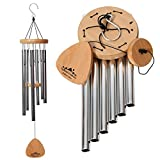 UpBlend Outdoors Wind Chimes for People who Like Their Neighbors 2 - an Amazing Addition to a Patio,...