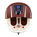 ACEVIVI Foot Spa Bath Motorized Massager with Heat, Frequency Conversion, Red Light Rolling Massage,...