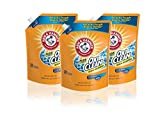 ARM & HAMMER Plus OxiClean Fresh Scent HE Liquid Laundry Detergent Easy-Pour Pouch, Pack of three 50...