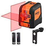 Tacklife SC-L01-50 Feet Laser Level Self-Leveling Horizontal and Vertical Cross-Line Laser -...