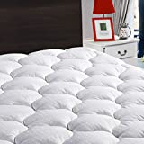 LEISURE TOWN Queen Mattress Pad Cover Cooling Mattress Topper Cotton Top Pillow Top with Snow Down...