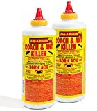 Zap-A-Roach Boric Acid Roach and Ant Killer - Odorless and Non-Staining - 1 LB. - 2 Pack