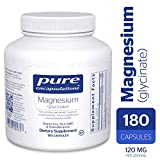 Pure Encapsulations - Magnesium (Glycinate) - Supports Enzymatic and Physiological Functions* - 180...