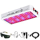 King Plus 1500W Double Chips LED Grow Light Full Spectrum for Greenhouse and Indoor Plant Flowering...