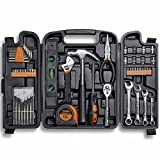VonHaus 54 Piece Tool Set - General Household Hand Tool Kit with Ratchet Wrench, Precision...