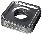 Aluminum Foil Square Gas Stove Burner Covers - Pack of 100 - Disposable Bib Liners for Kitchen Gas...