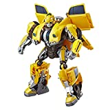 Transformers: Bumblebee Movie Toys, Power Charge Bumblebee Action Figure - Spinning Core, Lights and...
