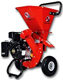 GreatCircleUSA 7HP Heavy Duty 212cc Gas Powered 3:1 capable Multi-Function Wood Chipper Shredder 3'...