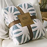 LOMAO Sherpa Fleece Blanket Fuzzy Soft Bed Blanket Dual Sided Throw Blanket fit Couch Sofa (Light...