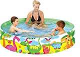 Taylor Toy Snapset Swimming Pool for Kids | Toddler and Baby Pool | 71' Diameter x 15' Depth, 203...