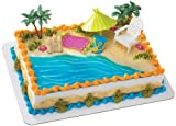 Beach Chair and Umbrella DecoSet Cake Decoration