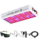 King Plus 1200w LED Grow Light Full Spectrum for Greenhouse Indoor Plant Veg and Flower(Dual-chip...