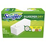 Swiffer Sweeper Dry Mop Refills for Floor Mopping and Cleaning, All Purpose Floor Cleaning Product,...