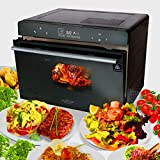 Electric Countertop Multifunction Convection Oven - 1800W 42QT Smart Digital Stainless Steel Compact...