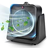 TRUSTECH Air Circulator Fan 2 in 1 Portable Quiet Cooling w/Space Heater for All Year Around, Tip...
