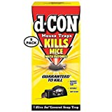 D-Con Ultra Set Covered Snap Trap 1 Ct. (Pack of 5)