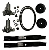 Mr mower parts deck rebuild kit for craftsman poulan Husqvarna included 2 heavy duty spindles...