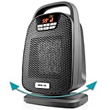 OPOLAR 1500W Digital Ceramic Space Heater with Oscillating Feature, Fast Heating for Small and...