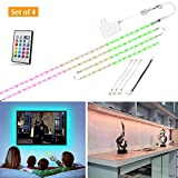 LED Strip Light 9.8ft, TV Bias Lighting for 49 to 65 inch HDTV, Multicolor Light Strip with Remote...