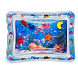 Splashin'kids Inflatable Tummy Time Premium Water mat Infants and Toddlers is The Perfect Fun time...