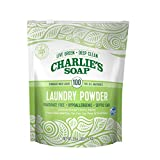 Charlie's Soap - Fragrance Free Powdered Laundry Detergent - 100 Loads (2.64 lbs, 1 Pack)