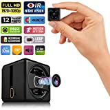 Lilexo Mini Hidden Spy Camera - 1080P Mini Security Camera - HD Cop Cam - Small Action Cam with...