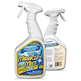 MiracleMist Instant Mold and Mildew Stain Remover for Indoor and Outdoor Use - Long Lasting...