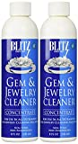 Blitz 653 Gem & Jewelry Non-Toxic Cleaner Concentrate for use in Cleaning Machines, 8 Ounces, 2-Pack