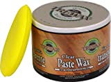 Trewax Paste Wax Clear, Pack of 2, 12.35-Ounce