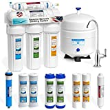 Express Water Reverse Osmosis Water Filtration System - NSF Certified 5 Stage RO Water Purifier with...