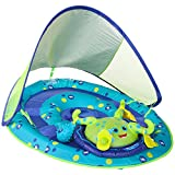 SwimWays Baby Spring Float Activity Center with Canopy - Inflatable Float for Children with...