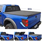 Tyger Auto T3 Tri-Fold Truck Bed Tonneau Cover TG-BC3C1007 Works with 2014-2019 Chevy Silverado/GMC...