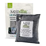 MOSO NATURAL Air Purifying Bag. Odor Eliminator, Odor Absorber for Cars and Closets. 200g Charcoal...