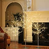 LIGHTSHARE Christmas Tree Combo Kit - Starlit Tree Collection with Angel Lights, 4 feet 5 feet and 6...