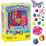 Creativity for Kids Fashion Headbands Craft Kit, Makes 10 Unique Hair Accessories (Packaging May...
