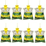 RESCUE! Sterling Outdoor Disposable Fly Catcher, Control Trap with Attractant, Insecticide Free (8...