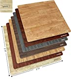 Sorbus Marble Floor Mats Foam Interlocking Marble Mats Each Tile 4 Square Feet 3/8-Inch Thick Puzzle...