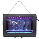 Bug Zapper Electronic Insect Killer with UV Light Lamp High Voltage Mosquito Killer for Fly Zapper...