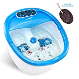 Ivation Foot Spa Massager - Heated Bath, Automatic Massage Rollers, Vibration, Bubbles, Digital...