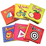 TOP BRIGHT Baby Toys 6 to 12 Months - Soft Crinkle Baby Books for Infants Girl Toy for 1 Year Old...