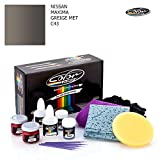 NISSAN MAXIMA / GREIGE MET - C43 / COLOR N DRIVE TOUCH UP PAINT SYSTEM FOR PAINT CHIPS AND SCRATCHES...