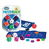 ThinkFun Math Dice Junior Game for Boys and Girls Age 6 and Up - Teachers Favorite and Toy of the...