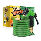 Flexi Hose Upgraded Expandable Garden Hose Extra Strength, 3/4' Solid Brass Fittings The Ultimate...