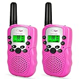 Gifts for 3-12 Year Old Girls, Tisy Long Range Two-Way Radios for Girls Christmas Birthday Gifts for...