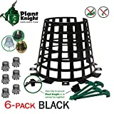 Plant and tree guard and protector for trees, plants, saplings, landscape lights, lamp posts, more;...
