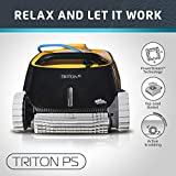 Dolphin Triton PS Automatic Robotic Pool Cleaner with Extra-Large Filter Basket and Superior...