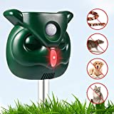 FITMAKER Dog Cat Repellent, Ultrasonic Pest Repellent with Motion Sensor and Flashing Lights Outdoor...