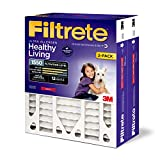 Filtrete 20x25x4(SlimFit), AC Furnace Air Filter, MPR 1550 DP, Healthy Living Ultra Allergen Deep...