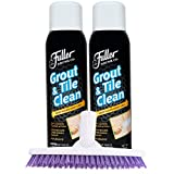 Fuller Brush Grout & Tile Cleaner Set - Heavy Duty Solution for Mold & Mildew for Brushing Bathtub,...